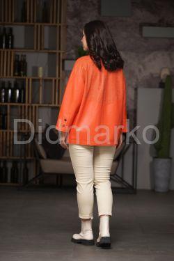 Стильный кожаный пиджак на весну