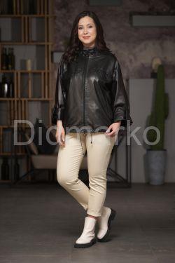 Женская кожаная куртка - автоледи
