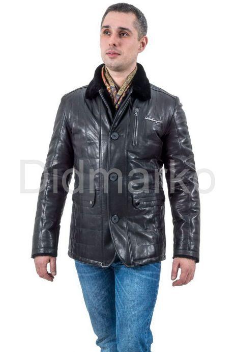 Мужская куртка дубленка. Фото 1.