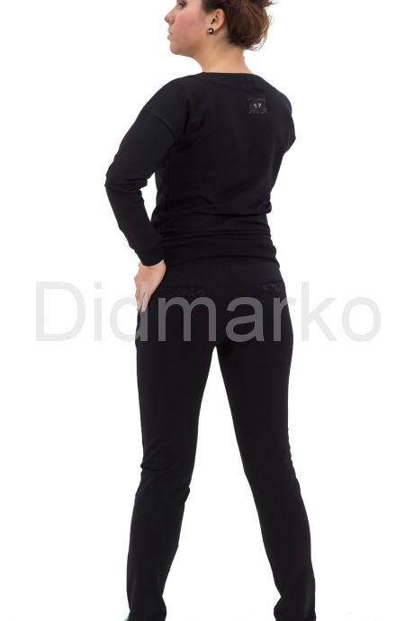 Спортивный костюм черного цвета. Фото 2.