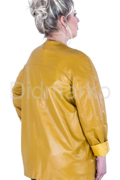 Весенняя кожаная куртка. Фото 2.