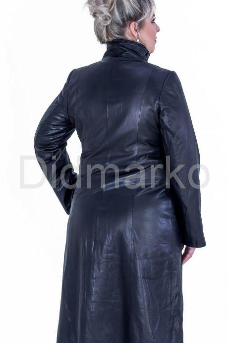 Кожаный плащ для женщин. Фото 2.