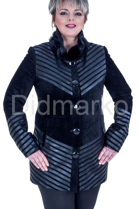 Замшевый пиджак. Фото 1.