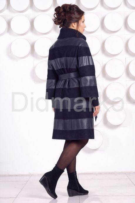 Кожаное пальто GALISITA-TRIKOL. Фото 4.