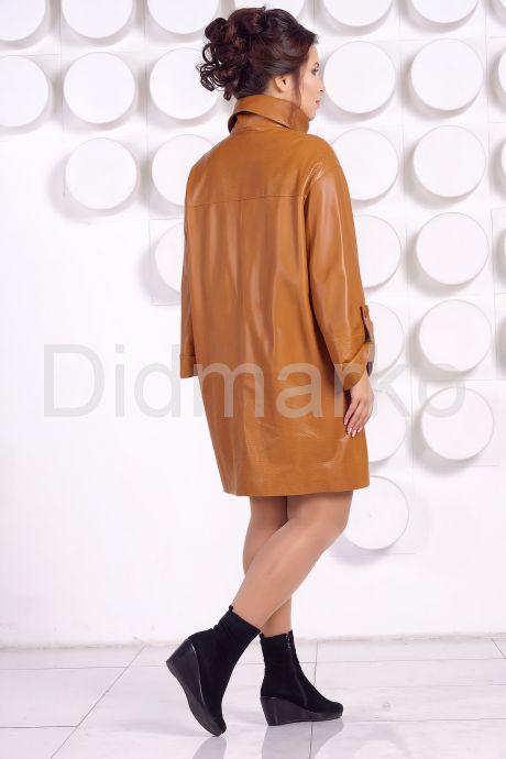 Модный кожаный плащ. Фото 4.