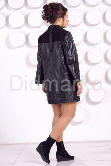Кожаная куртка больших размеров BAYAN. Фото 4.