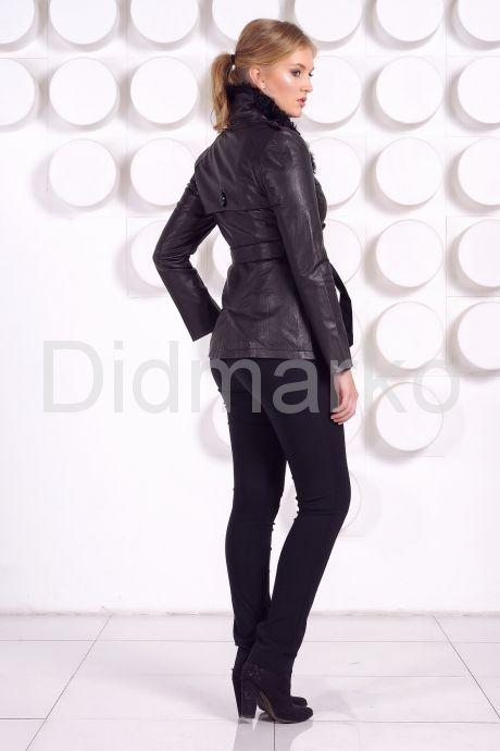 Стильная кожаная куртка. Фото 7.