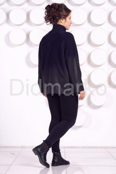 Красивая замшевая куртка больших размеров MEDYA. Фото 4.