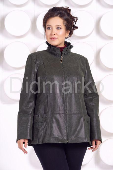 Замшевая куртка больших размеров. Фото 2.