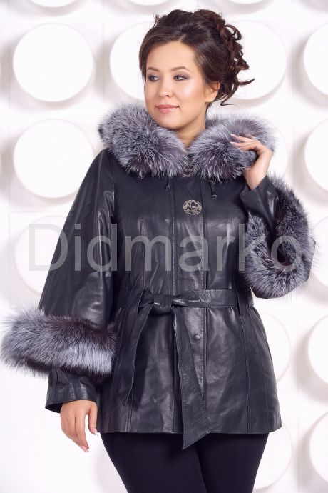 Кожаная куртка для милых дам. Фото 3.