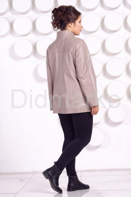Кожаная куртка больших размеров. Фото 4.