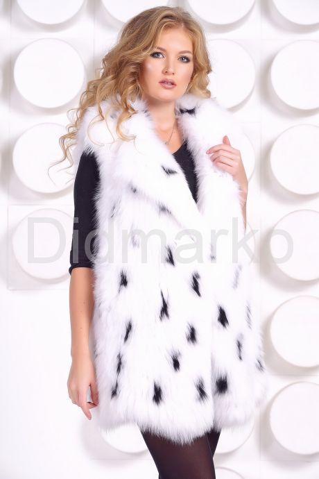 Женский меховой жилет. Фото 2.