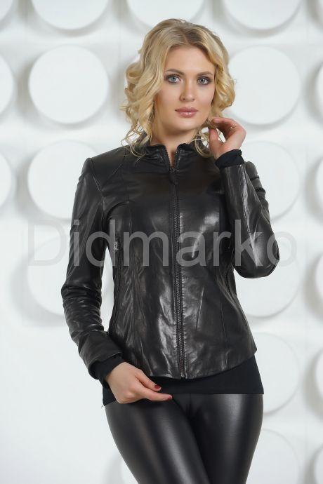 Молодежная кожаная куртка. Фото 3.