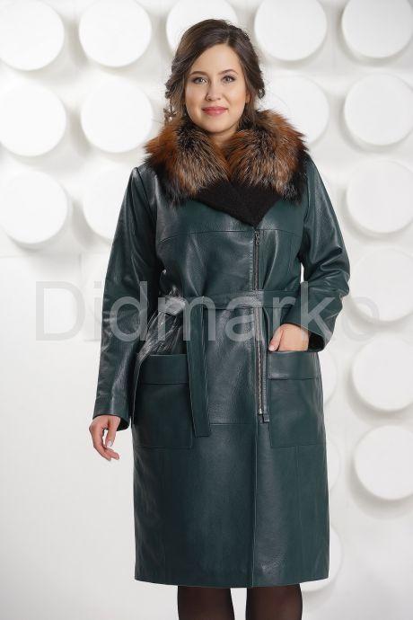 Роскошное итальянское кожаное пальто. Фото 2.