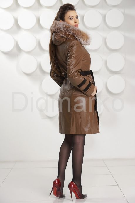 Кожаное пальто с подстежкой. Фото 4.