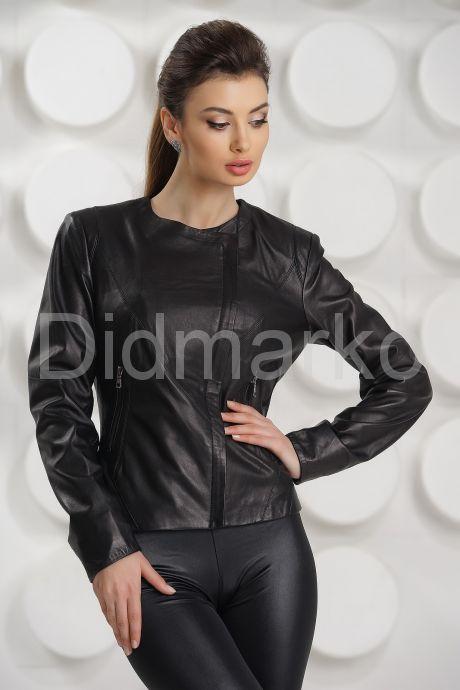 Кожаная куртка косуха. Фото 2.