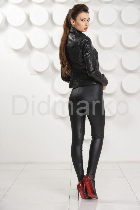 Короткая кожаная курточка (косуха). Фото 3.