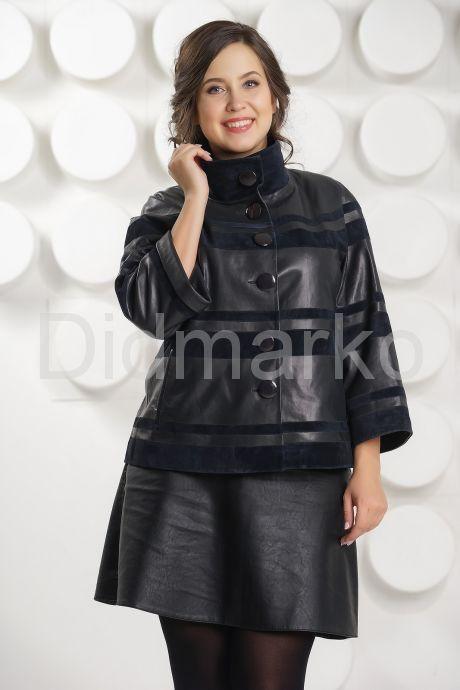 Модная куртка больших размеров. Фото 2.