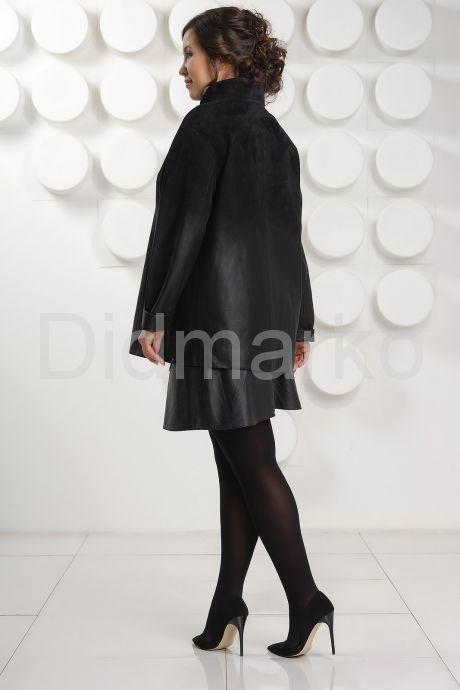 """Куртка из замши """"деграде"""". Фото 4."""