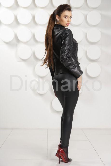 Кожаная куртка DMP69B. Фото 3.