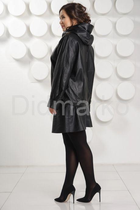 Кожаная куртка с капюшоном Milan. Фото 4.