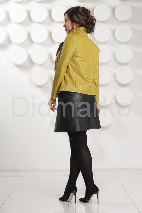 Короткая кожаная куртка  Милан. Фото 8.