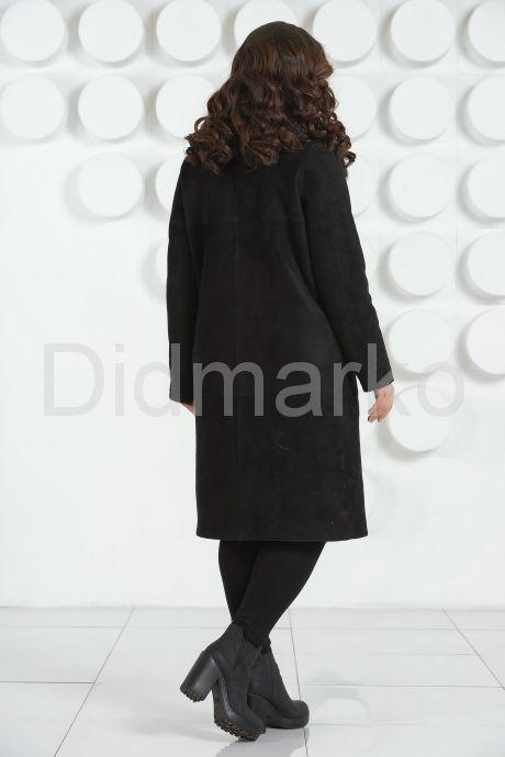 Итальянская дубленка черного цвета. Фото 4.