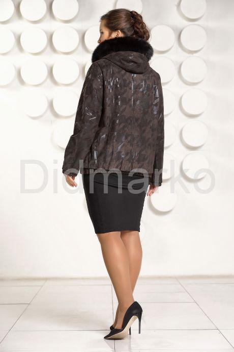 Куртка из замши больших размеров. Фото 4.