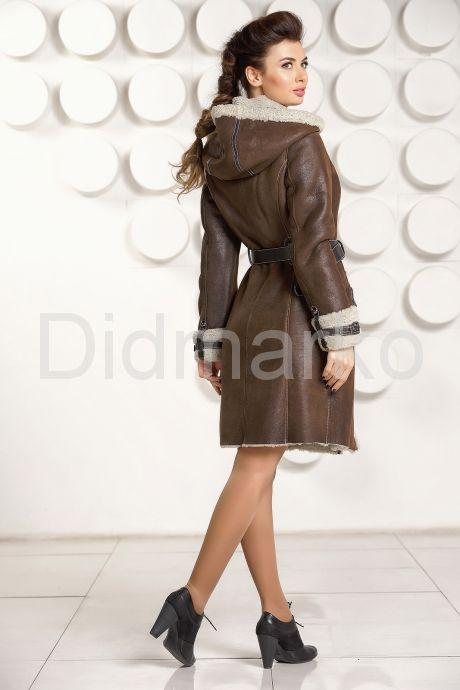 Женская дубленка м мехо керли. Фото 4.