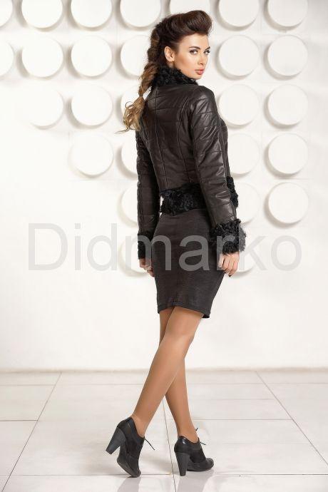 Короткая куртка с отделкой барашка. Фото 4.