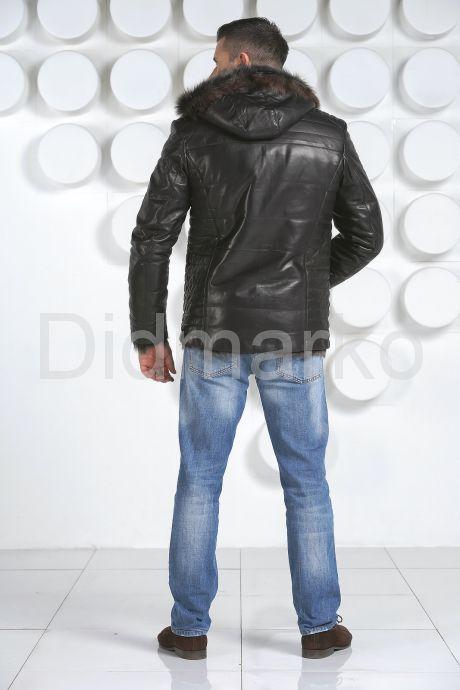 Стильная мужская дубленка. Фото 4.