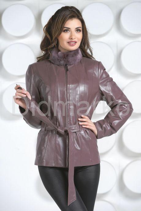 Кожаная куртка с мехом 10. Фото 2.