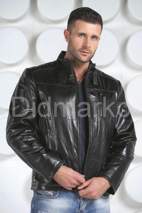 Мужская кожаная куртка. Фото 2.