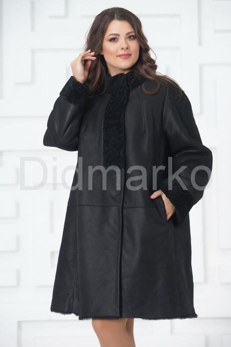 Классическое пальто из овчины. Фото 3.
