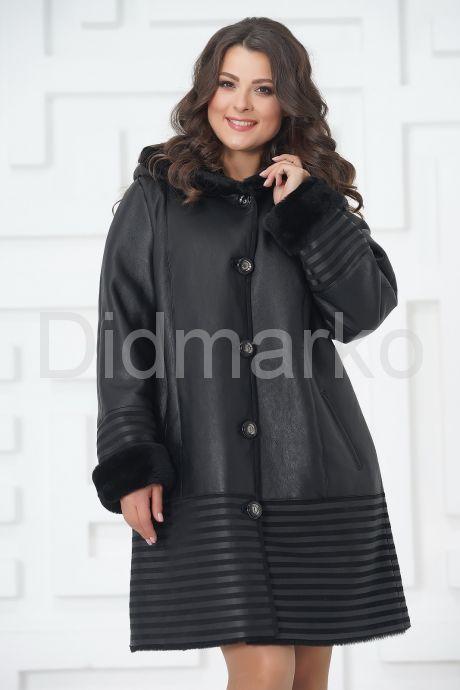 Женское пальто из овчины. Фото 4.