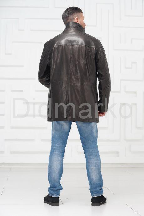 Мужская кожаная куртка больших размеров. Фото 4.