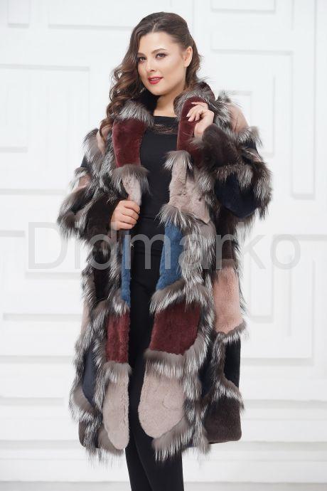 Роскошное меховое пальто от PUNTO. Фото 5.