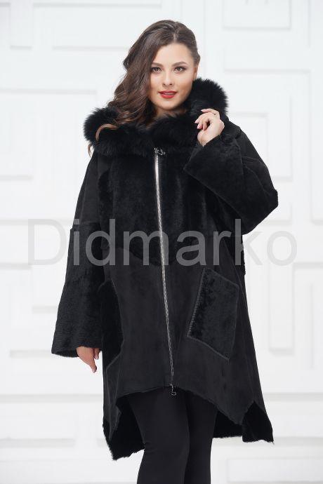 Женское пальто из овчины в стиле бохо. Фото 3.