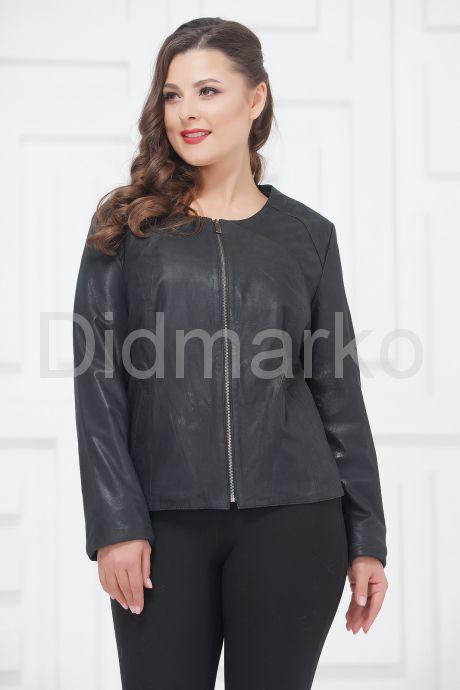 Замшевая куртка больших размеров айс покрытие. Фото 2.