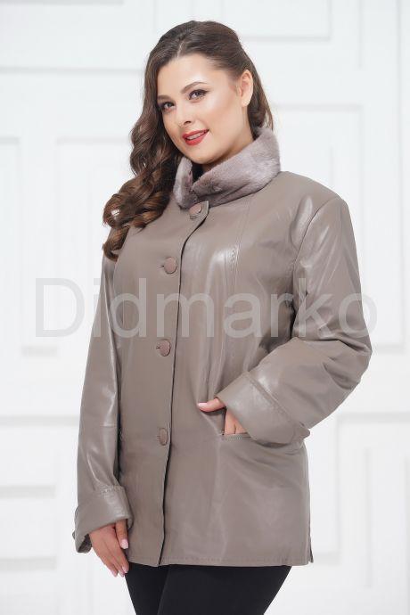 Демисезонные кожаные куртки больших размеров. Фото 2.