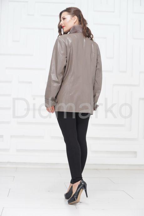 Демисезонные кожаные куртки больших размеров. Фото 5.