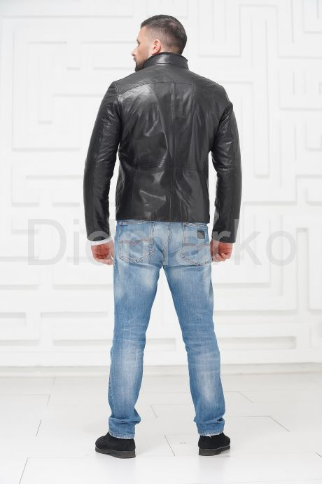 СКИДКА! Мужская кожаная куртка на меху 2021