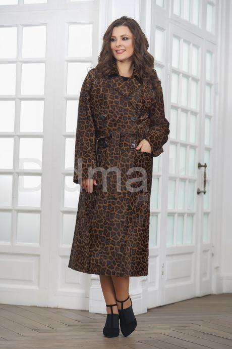 Леопардовое пальто из нерпы. Фото 4.