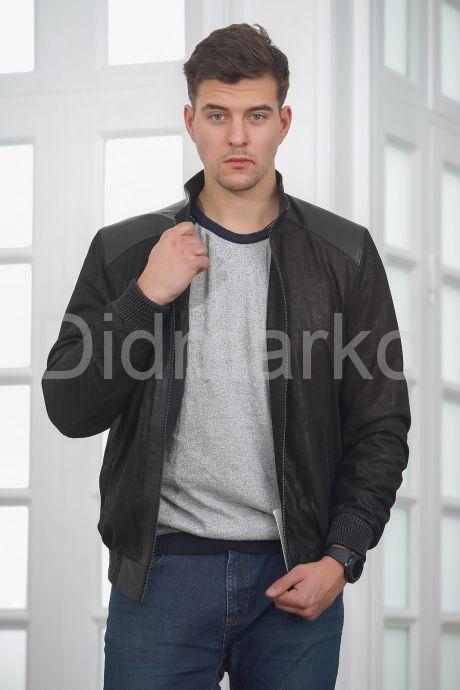 Мужская куртка из замши. Фото 6.