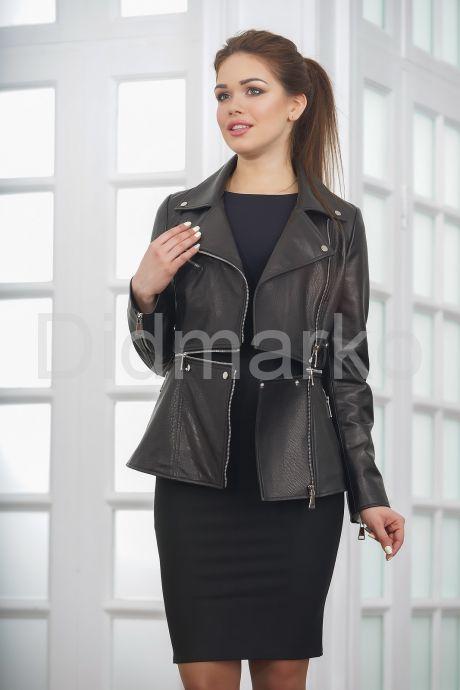 Трендовая кожаная косуха куртка-трансформер 2021