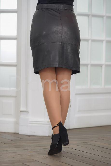 Кожаная юбка. Фото 4.
