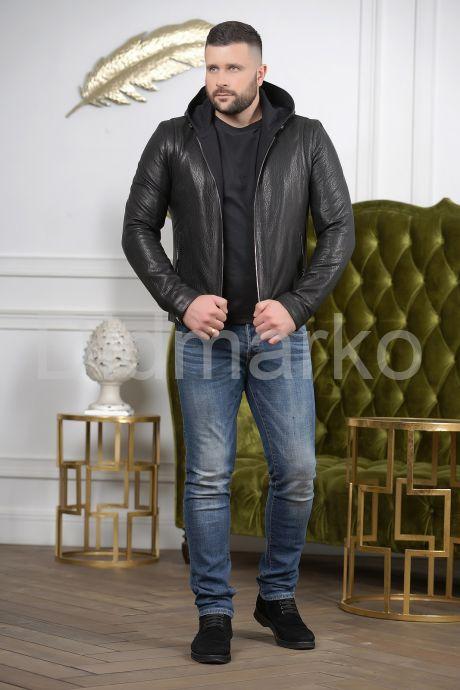 Короткая мужская куртка с капюшоном, артикул DMF576