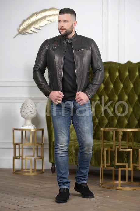 Хит сезона 2019 мужская кожаная куртка. Фото 5.