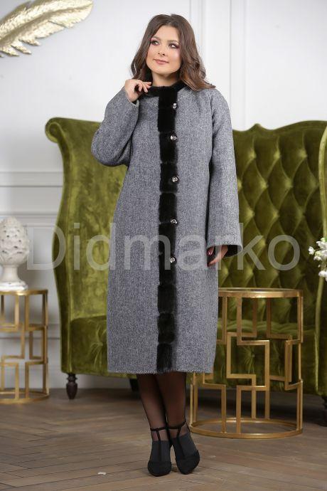 Женское пальто больших размеров. Фото 3.