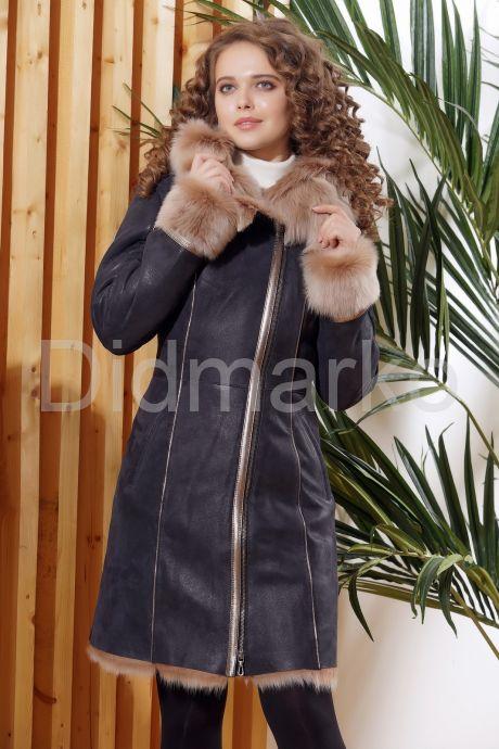 Красивое зимнее пальто из испанского тоскана. Фото 7.